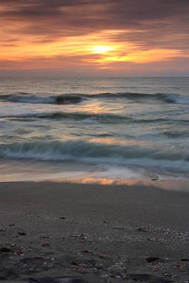 Magical Captiva Beach Sunset Art Print by Larry Federman
