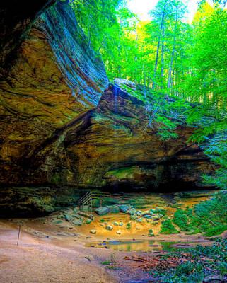 Photograph - Magical Cave by Jonny D