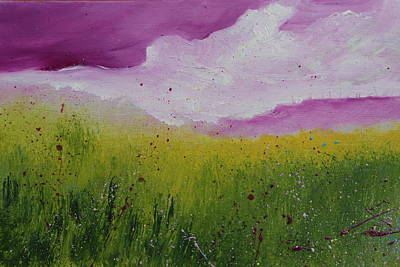 Painting - Magical Clouds by Alicia Maury