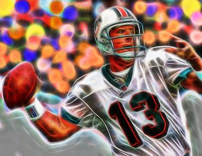 Magical Dan Marino Art Print