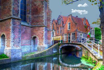 Magical Delft Art Print