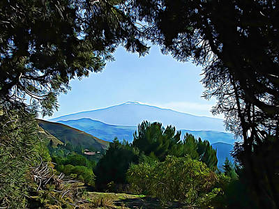 Photograph - Magical Etna by Lucia Sirna
