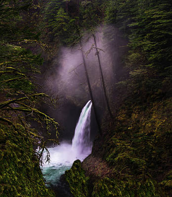 Waterfall Photograph - Magical Falls 2 by Larry Marshall
