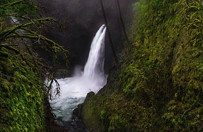 Waterfall Photograph - Magical Falls by Larry Marshall