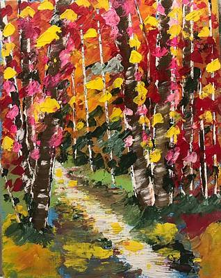 Painting - Magical Forest by Jim McCullaugh