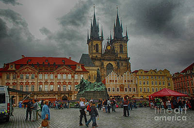 Photograph - Magical Heart Of Prague by Pravine Chester