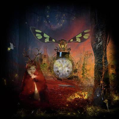 Digital Art - Magical Hour by Sue Masterson
