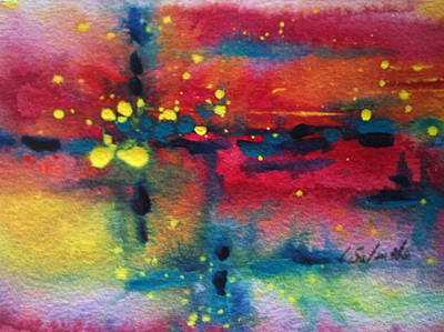 Painting - Magical Intersect by Laurie Salmela