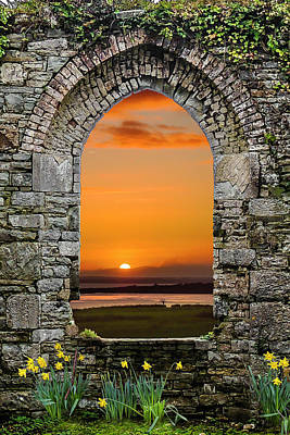 Photograph - Magical Irish Spring Sunrise by James Truett