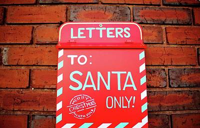 Photograph - Magical Letters To Santa  by Cynthia Guinn