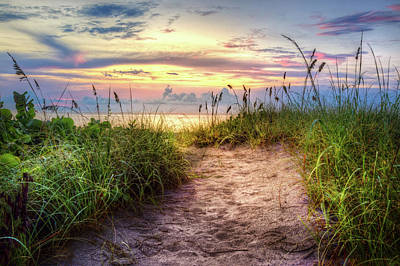 Photograph - Magical Light In The Dunes by Debra and Dave Vanderlaan