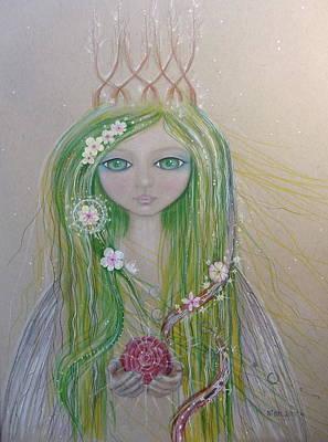 Magical Light  Art Print