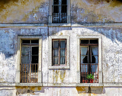 Photograph - Magical Light On Sintra Windows by Marion McCristall