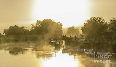 River Mist Photograph - Magical Mist by Geoff Smith