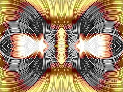 Digital Art - Magical Mitosis Fractal Abstract by Rose Santuci-Sofranko