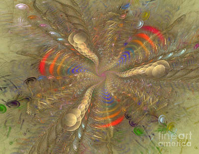 Apophysis Mixed Media - Magical Moment by Deborah Benoit