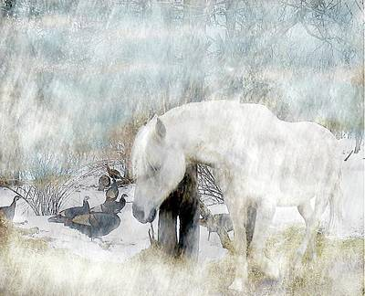 Magical Moments On A Snowy Winter's Day Original