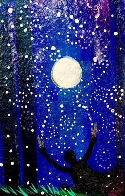 Painting - Magical Moon by Gina Signore