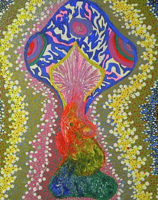 Magical Mushroom Art Print