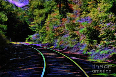 Photograph - Magical Mystery Tour by Patti Whitten