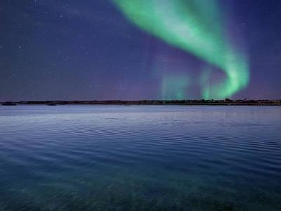 Photograph - Magical Night By The Seashore by Johanna Hurmerinta