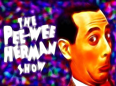 Magical Pee Wee Herman Art Print