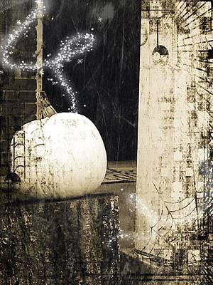 Photograph - Magical Pumpkin by Kathy Barney