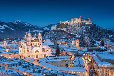 Photograph - Magical Salzburg by JT Photography