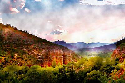 Magical Sedona Art Print