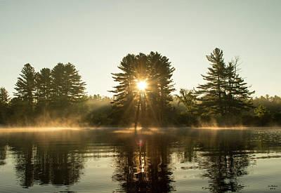 Androscoggin River Photograph - Magical Sunrise by Jan Mulherin
