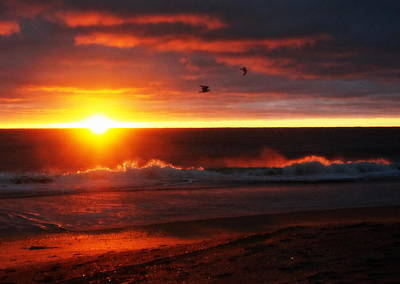 Photograph - Magical Sunrise by Laurie Pike