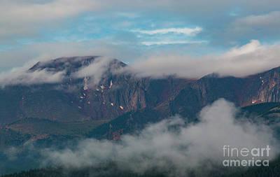 Photograph - Magical Sunrise On Pikes Peak Colorado by Steve Krull