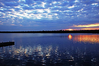Photograph - Magical Sunrise Thistle Island by Debbie Oppermann