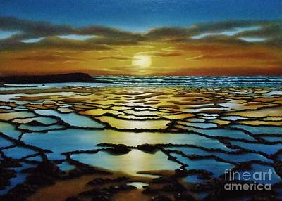 Painting - Magical Sunset by Paula Ludovino