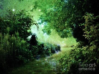 Fantasy Landscape Digital Art - Magical Tranquility Path by Johari Smith
