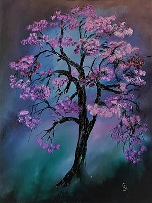 Painting - Magical Tree                  66 by Cheryl Nancy Ann Gordon