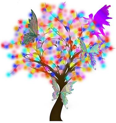 Digital Art - Magical Tree - Digital Art by Ericamaxine Price