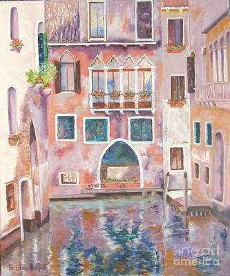 Painting - Magical Venice by Lisa Boyd