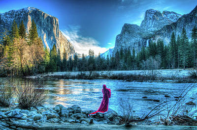 Photograph - Magical Winter In Yosemite by Connie Cooper-Edwards