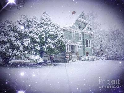 Photograph - Magical Winter by Jenny Revitz Soper