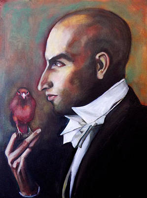 Painting - Magician And Bird by Irena Mohr