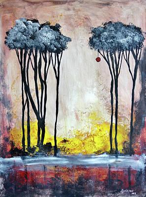 Magicos Recuerdos En Primavera  Art Print by Lorenzo Muriedas