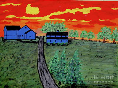 Painting - Magley's Farm by Jeffrey Koss