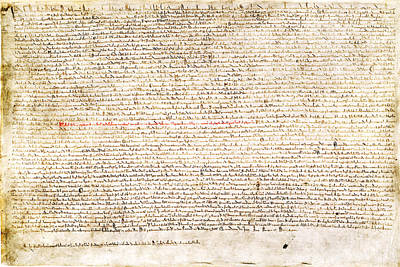 Photograph - Magna Carta 2 by C H Apperson