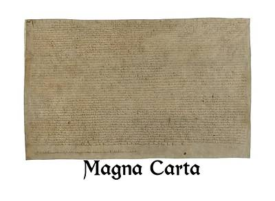 Manuscript Digital Art - Magna Carta by Archbishop Stephen Langton