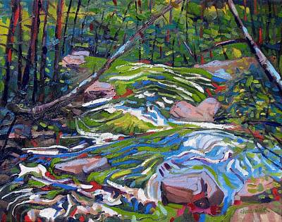 Ipap Painting - Magnetawan Hill by Phil Chadwick