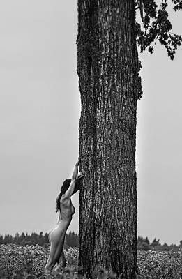 Nudeart Photograph - Magnetic Fields by Paulius Stefanovicius