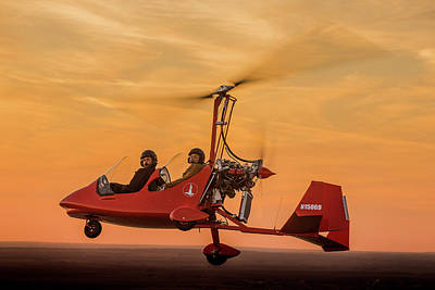 Photograph - Magni Gyroplane by Jack Fleetwood