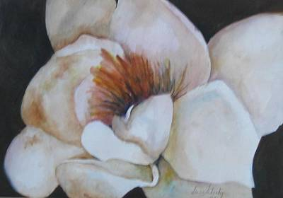 Magnificant Magnolia Original by Gwendolyn Leigh Faherty