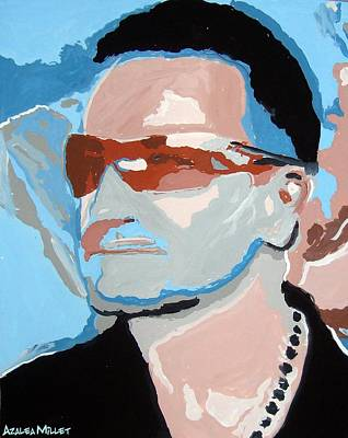 Bono Painting - Magnificent by Azalea Millet